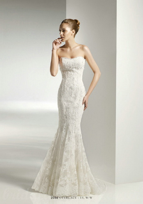 Fitted bridal gowns for Fitted strapless wedding dress