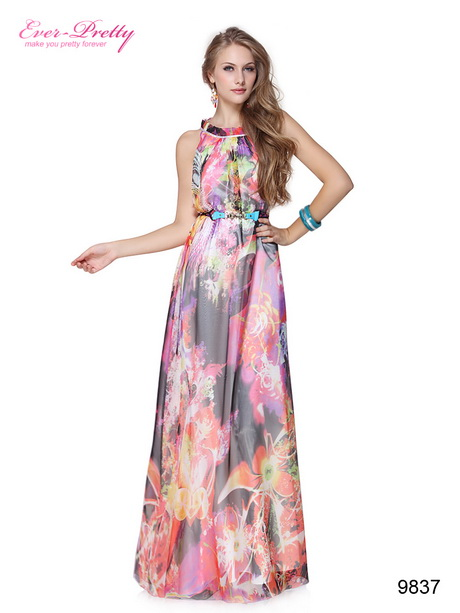 Floral formal dresses