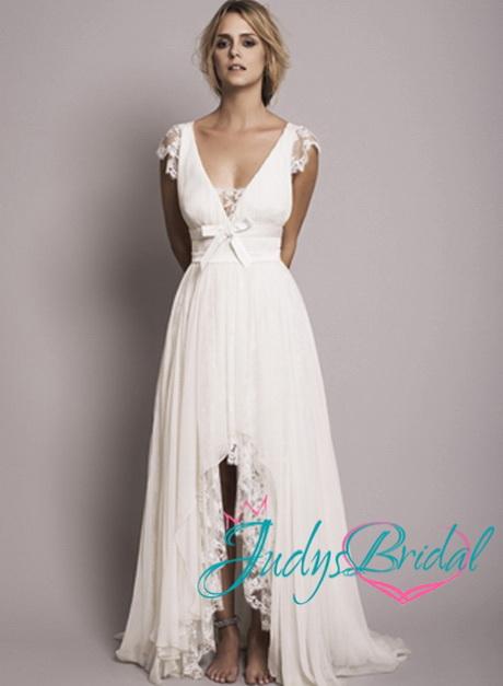 Flowy Beach Wedding Dresses