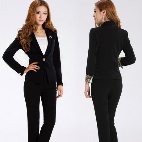 Spring black fashion long-sleeve work wear women s set women s