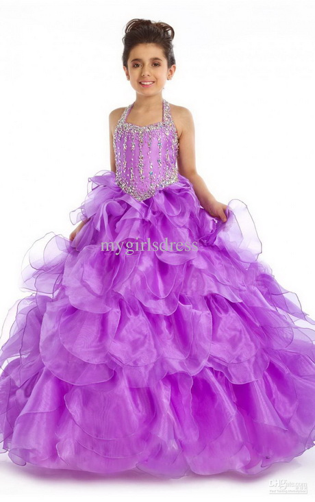 Whether you are shopping for a tea length flower girl dress, a floor length flower girl dress, or something short and casual you have come to the right site. We specialize in kid's formal dresses in a variety of fabrics from cotton, tulle, satin, to taffeta.