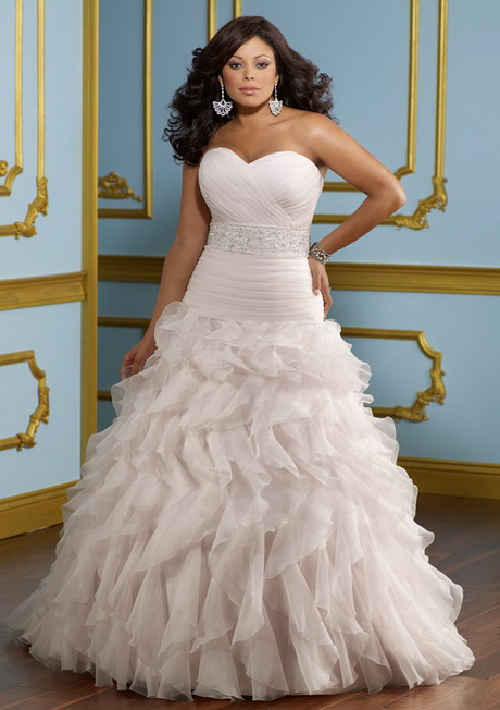 Full figure bridal gowns for Full size wedding dresses