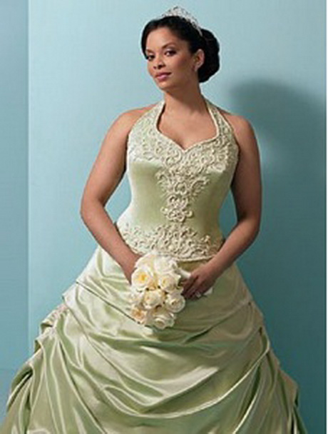 wedding gowns for full figured brides