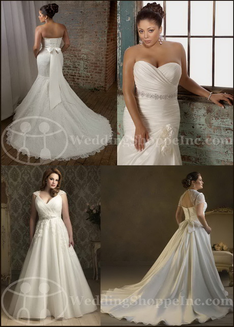 Full figured wedding gowns for Full size wedding dresses