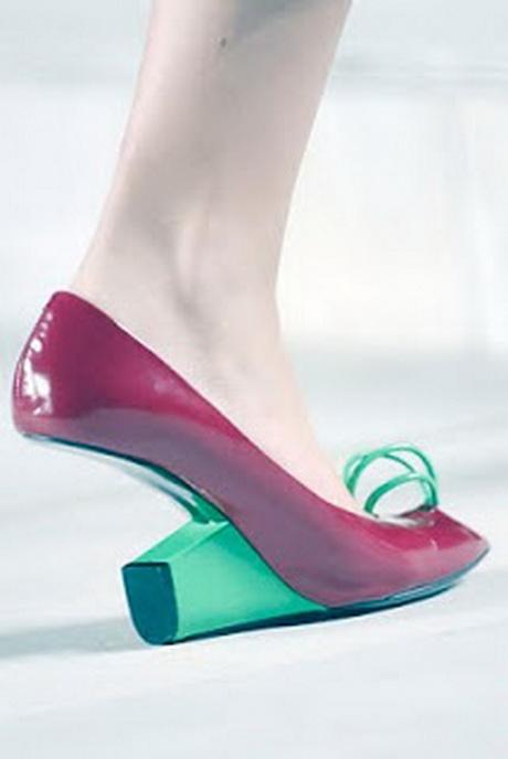 funky high heels