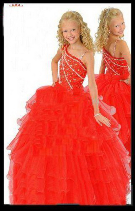 Girl pageant party holiday prom bridal recit wedding dress size 8 6 10