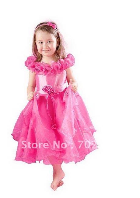 Hot Pink Party Dresses For Girls - Eligent Prom Dresses