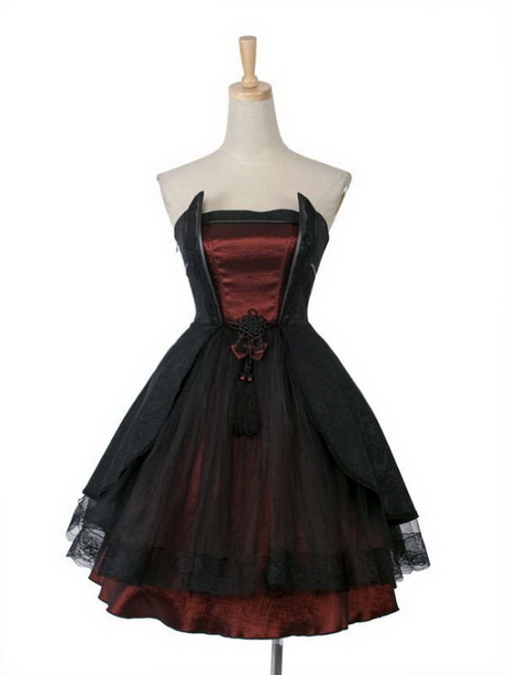 Goth Homecoming Dresses 104