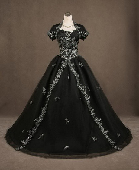 Gothic Black Wedding Dresses For  : Gothic prom dresses