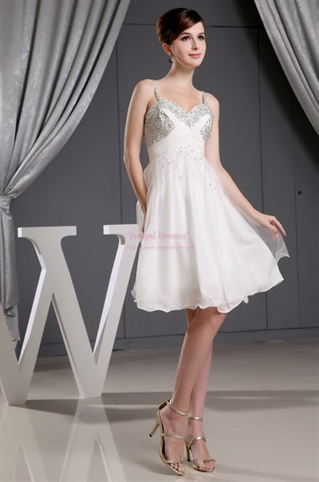 Short Graduation Dresses For High School Ivory Short Homecoming Dress ...