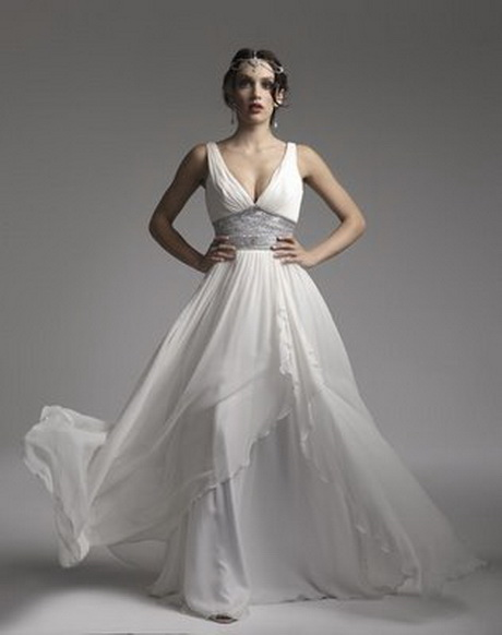 grecian style wedding dresses ForGrecian Goddess Wedding Dresses