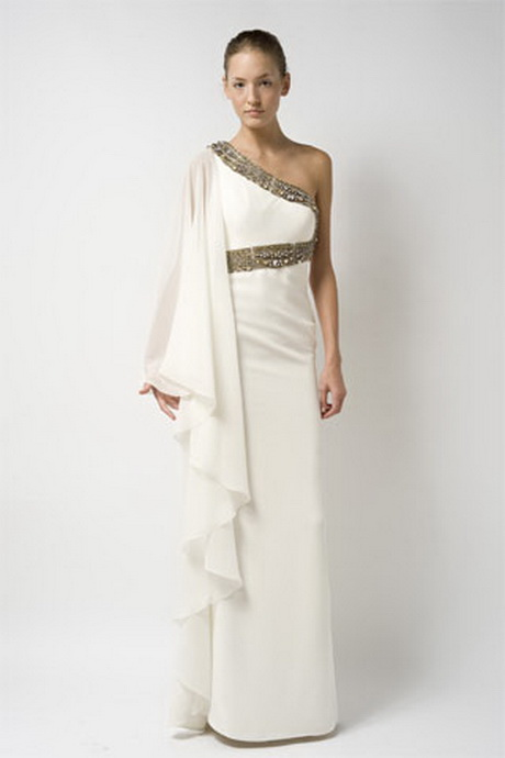 Grecian style wedding dresses for Toga style wedding dress