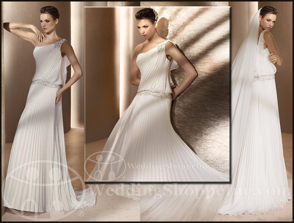 Grecian wedding gowns San Patrick Rapsodia