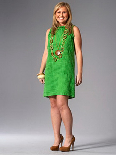 woman in a bright green dress. Ben Goldstein. Back Next. View