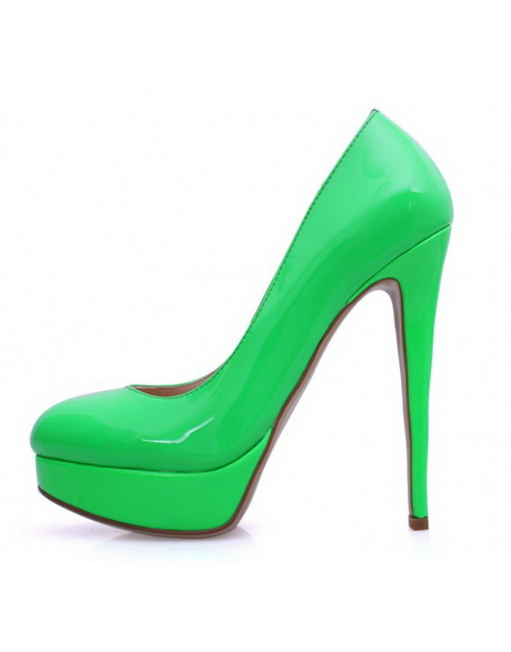 green high heel shoes. Black Bedroom Furniture Sets. Home Design Ideas