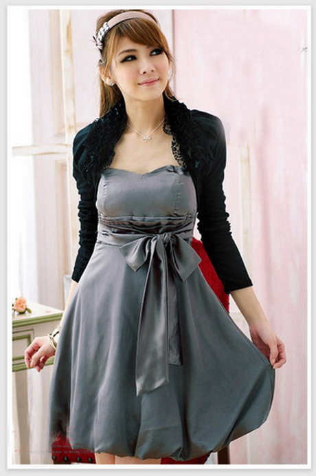 Grey Cocktail Dress hd pictures