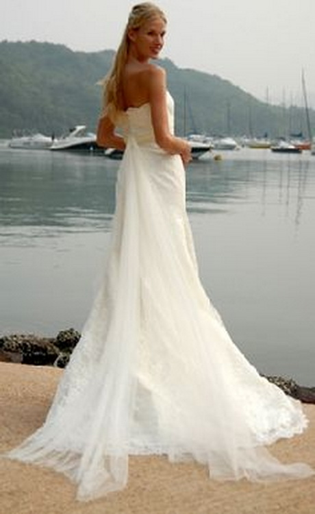 Beach wedding dresses hawaii bridesmaid dresses for Wedding dresses for tropical wedding