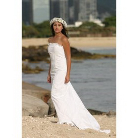 Hawaiian beach wedding dresses for Wedding dresses for tropical wedding