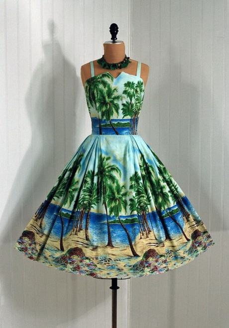 Hawaiian Cocktail Dresses