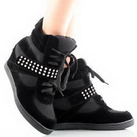 high heel tennis shoes