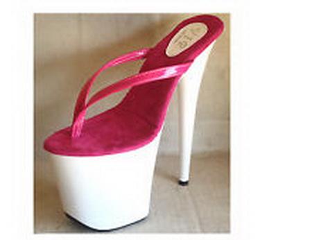 High Heel Thong Sandals