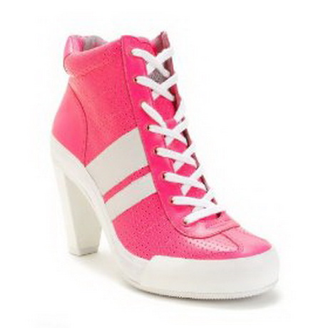 high heeled tennis shoes