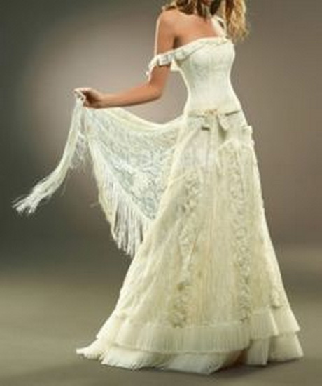 Hippy wedding dresses for Hippie dresses for weddings