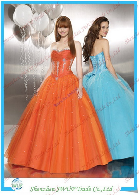 Wedding Dress For Hire Glasgow : Lovely sky blue or orange tull evening dress hire leed and glasgow