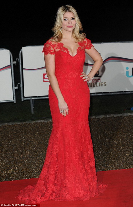 Holly Willoughby Red Dress