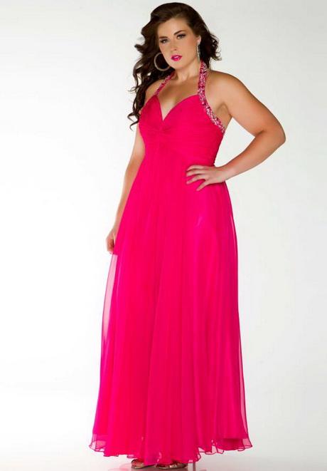 Hot Pink Plus Size Dresses