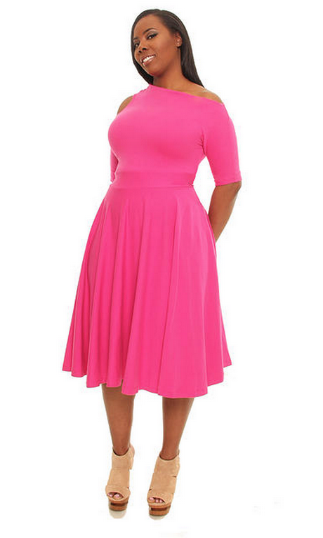 2 piece plus size dresses