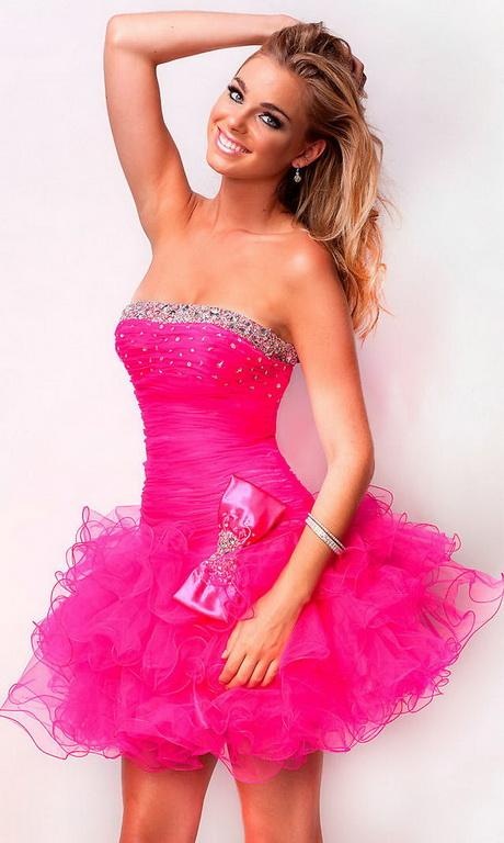 Платье для девушки розовое своими руками