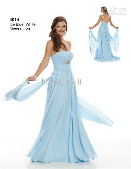 Ice blue bridesmaid dresses for Ice blue wedding dress