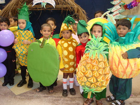 Костюмы овощей и фруктов своими руками фото