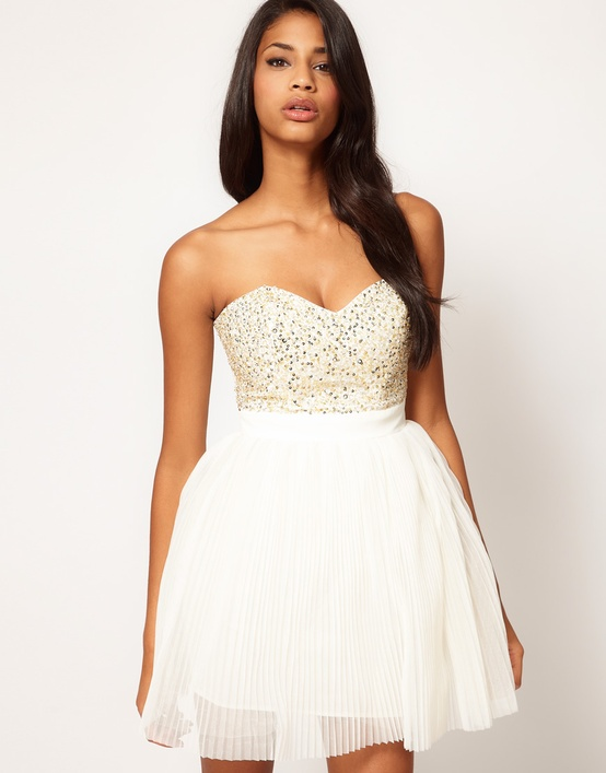 ASOS Lipsy Embellished Dress