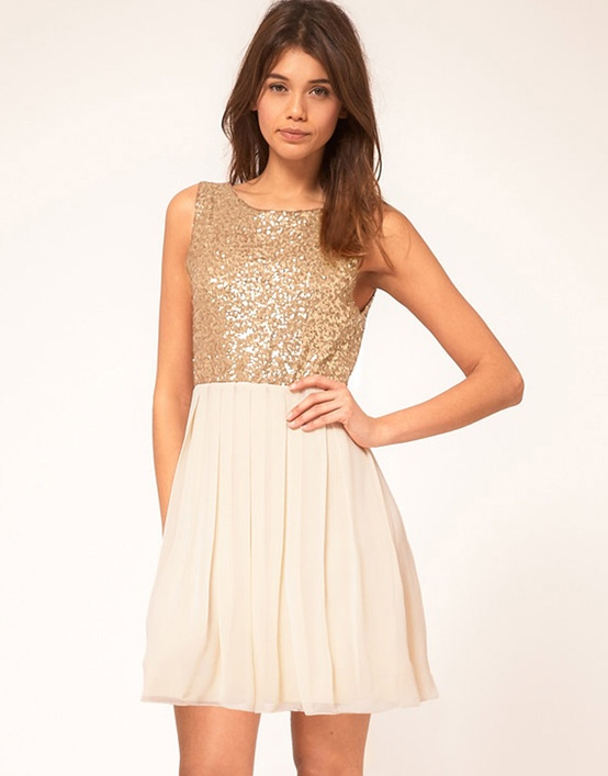 ASOS Embellished Bodice Dress