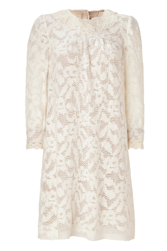 STYLEBOP Lace Anna Sui Dress
