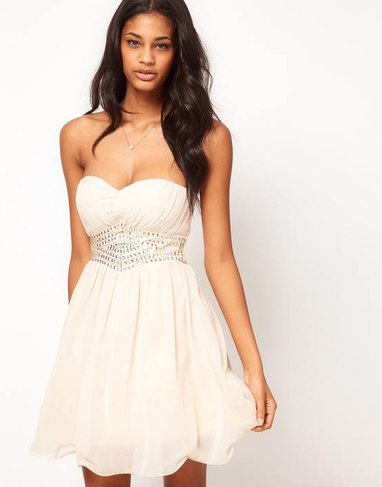 ASOS Embellished Waist Dress