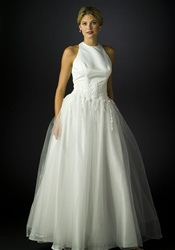 Discount Wedding Dress (B7977) White