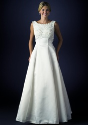 Wedding Dress (B8008) Ivory