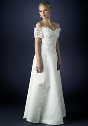 Wedding Dress Gown (B8004) Ivory