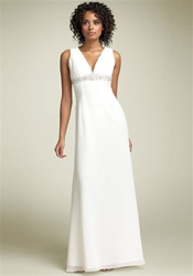 Ivory Informal Bridal Dress (7373)