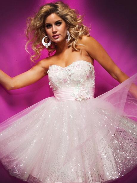 Junior ball gowns - Rosa kleid kurz ...