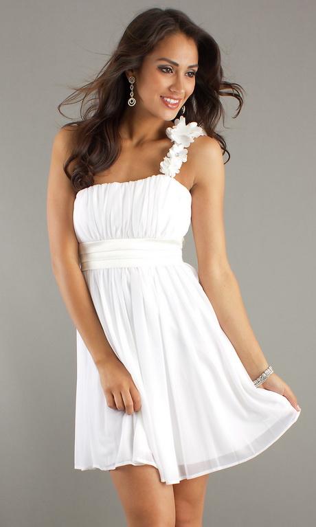 Junior white dresses