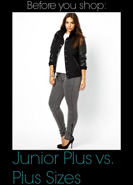 Plus Size Junior Clothes