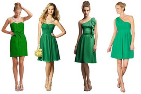 kelly green bridesmaid dresses