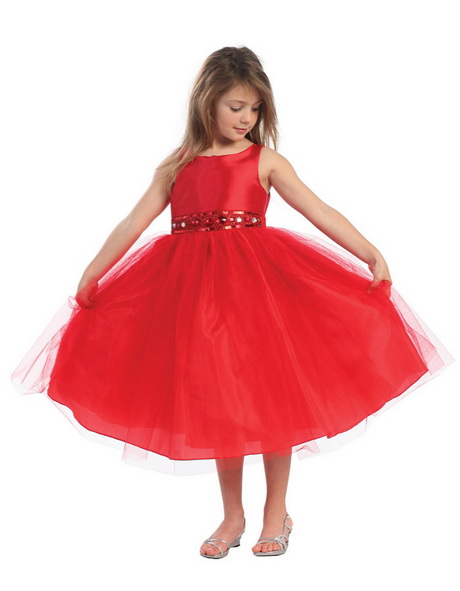Kids Red Dresses