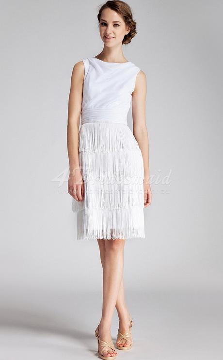 Knee Length White Dresses