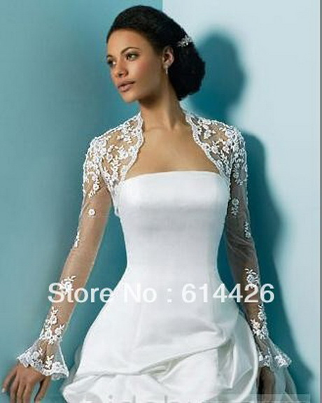 Lace shrugs for dresses for Wedding dress with shrug