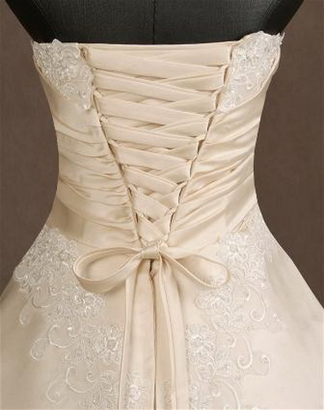 Wedding Gown Lace Up Back : Wedding dress back lace up overlay dresses